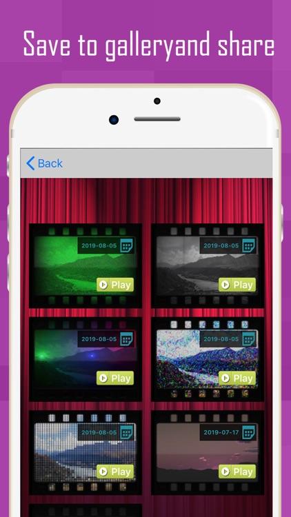 V2Art: video effects screenshot-5