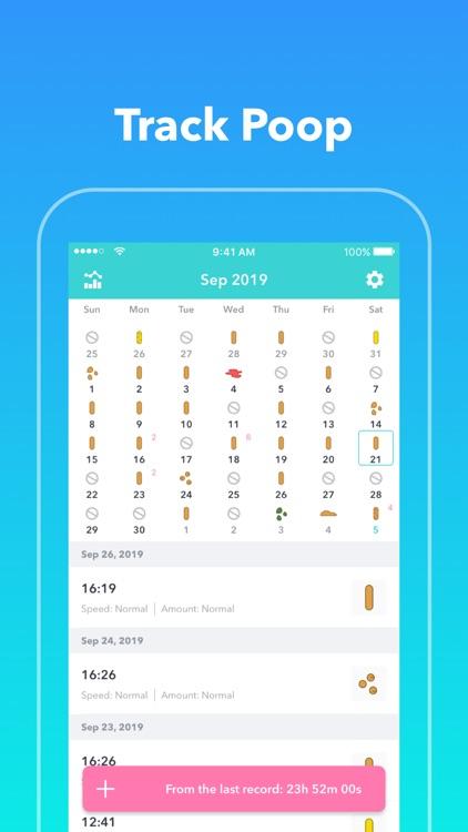 PCal - Poop Tracker,Calendar