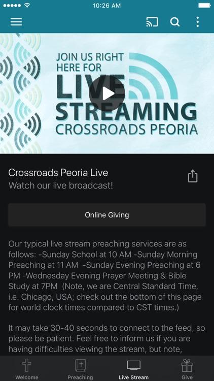 Crossroads Baptist Peoria