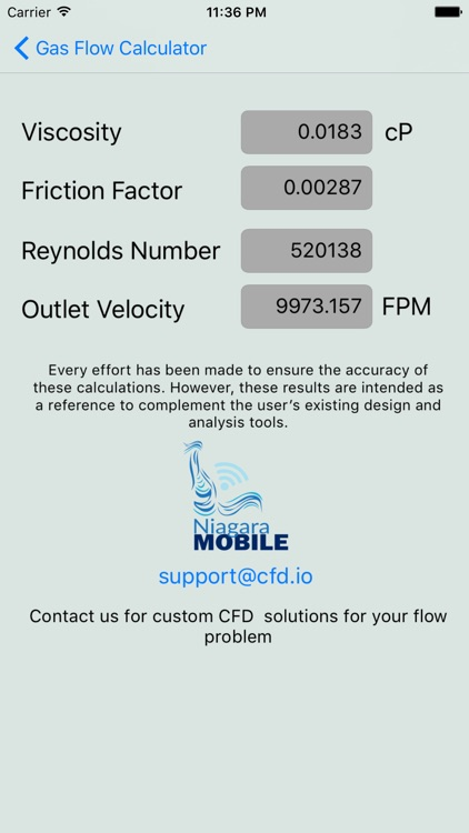 Compressible Gas Flow Calc screenshot-3
