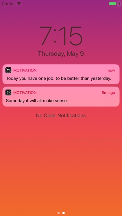 Motivation - Daily quotes screenshot-0