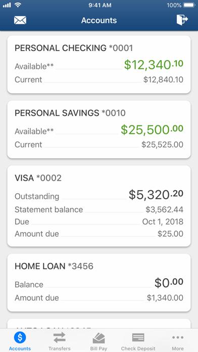 Evansville FCU Mobile BankingScreenshot of 2