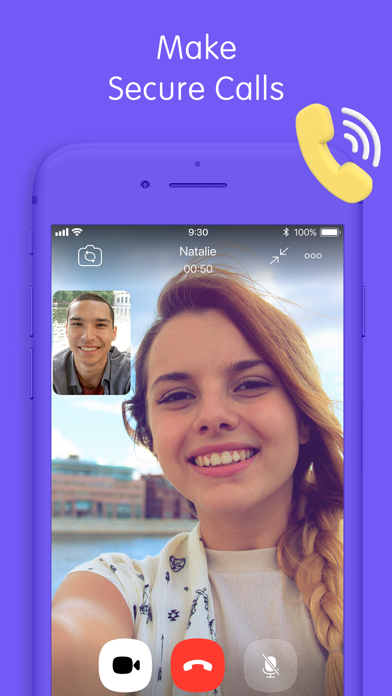 Screenshot for Viber Messenger & Video Chats in Austria App Store
