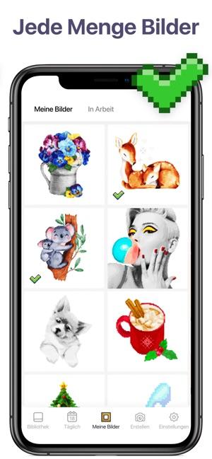 Pixel Art Malen Nach Zahlen Im App Store