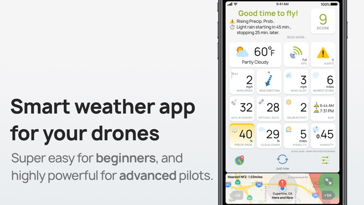 AURA - Smart Weather for Drone