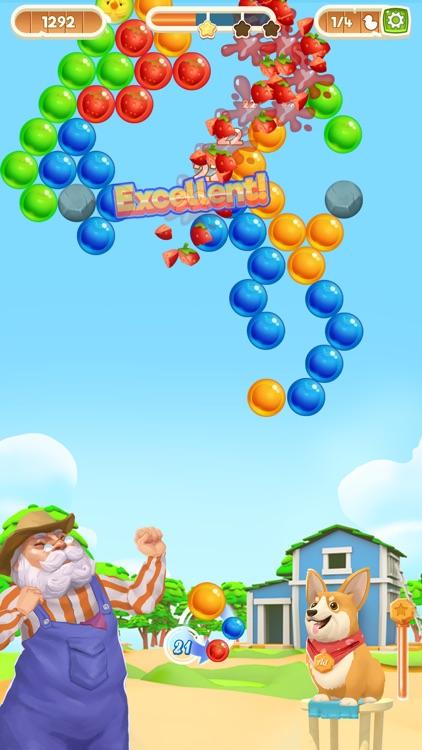 Bubble Shooter Magic Farm screenshot-4