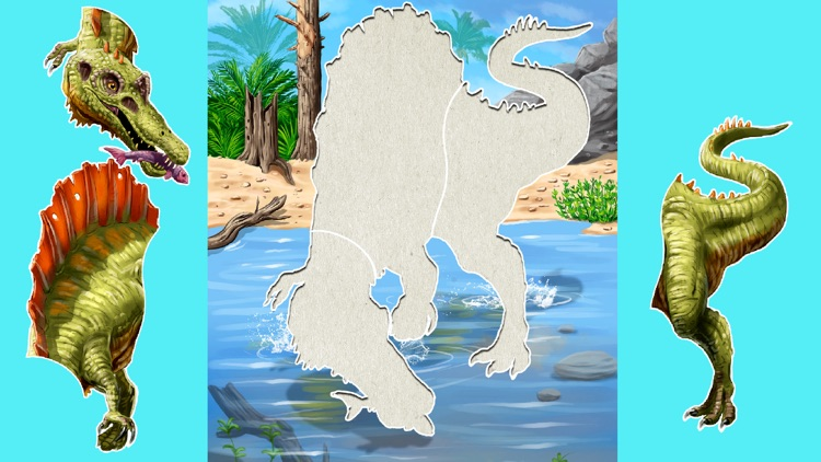 Kids puzzle games: Dinosaurs screenshot-2
