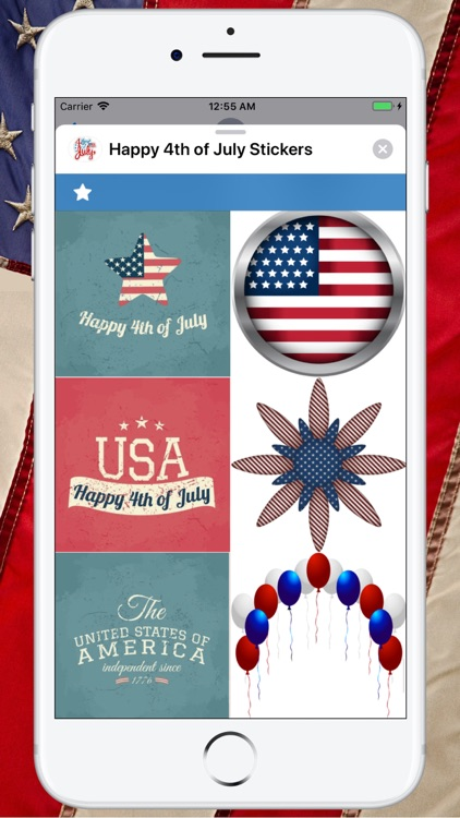 Happy 4th of July Stickers ! screenshot-9