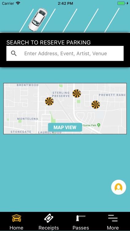 SweetSpot Parking App