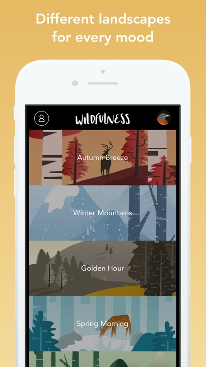 Wildfulness: Meditate & Relax screenshot-2