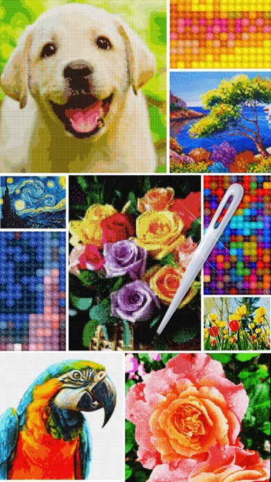 Cross stitch : Color by Letter screenshot 3