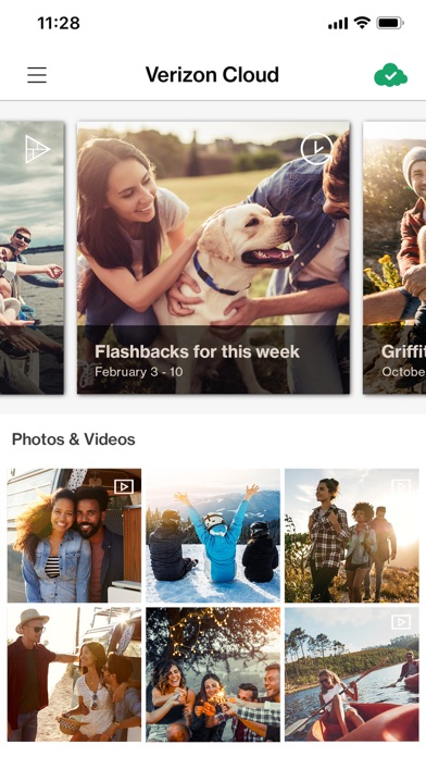 Verizon Cloud app image