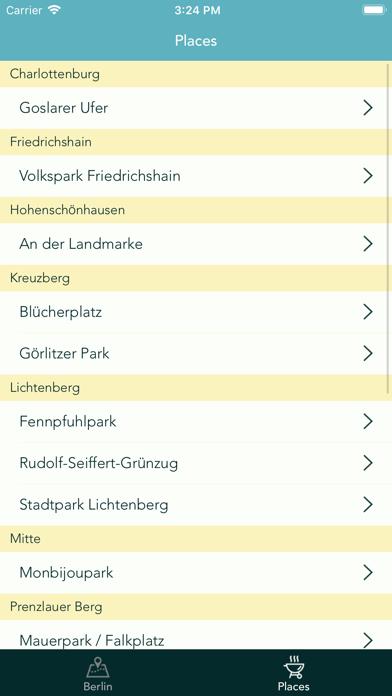 BBQ. Grilling spots in Berlin app image