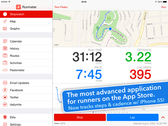 Runmeter GPS - Running Jogging Cycling Walking Workout Run Tracking screenshot