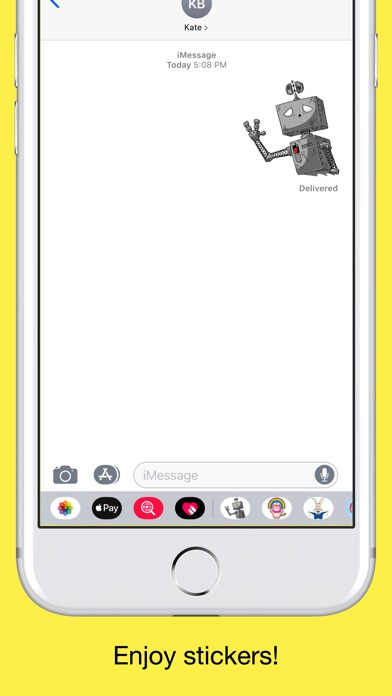 Robots - Emoji and Stickers screenshot 5