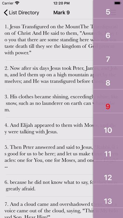 NKJV Bible Books & Audio screenshot-3