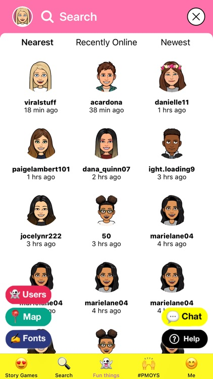 Slide Up - Games for Snapchat! screenshot-3