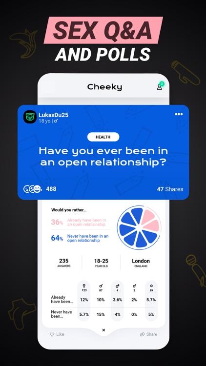 CHEEKY: Social Sex Learning screenshot-3