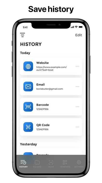 Qr-Code & Barcode Scanner · screenshot-3