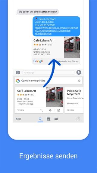 Screenshot for Gboard – die Google-Tastatur in Germany App Store