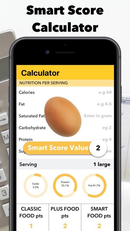 Smart - Food Score Calculator