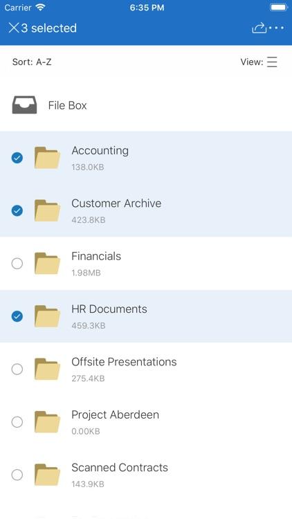 Citrix Files screenshot-0