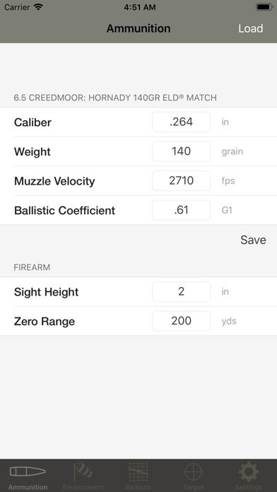 Ballistic Calculator SBC Light på PC