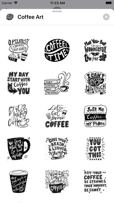 Coffee-Art screenshot 1