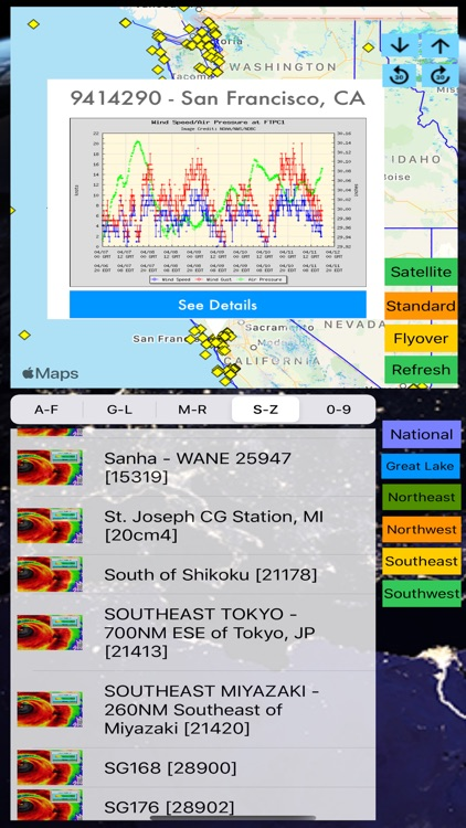 Instant NOAA Buoys 3D Pro screenshot-6