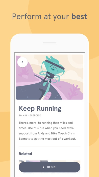Screenshot for Headspace: Meditation & Sleep in New Zealand App Store