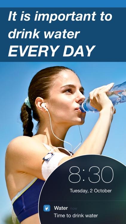 Drink Water Reminder & Counter screenshot-0