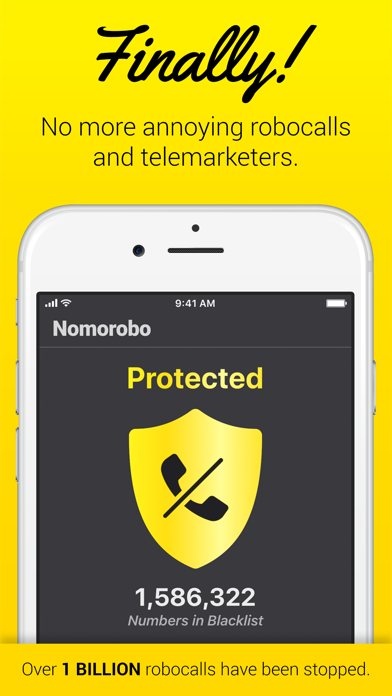 Nomorobo Robocall Blocking by Telephone Science Corporation