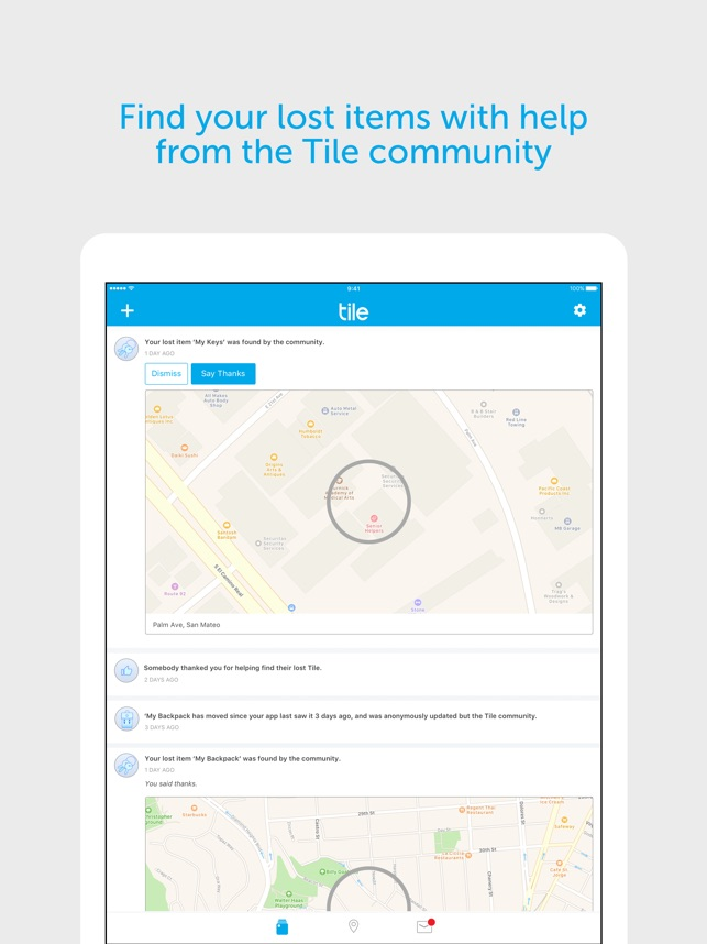960e991f32e3 Tile - Find lost keys & phone on the App Store
