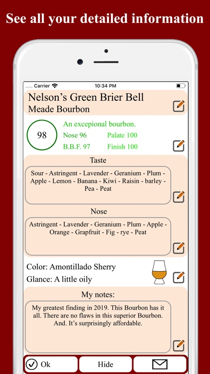Bourbon Tasting screenshot-4