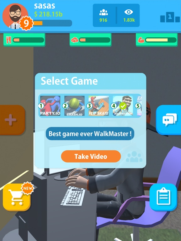 uTubers.idle screenshot 11