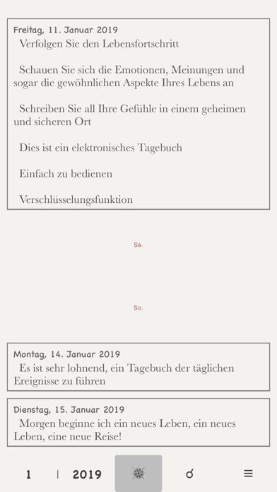 Tagebuch Ohne WerbungScreenshot von 4