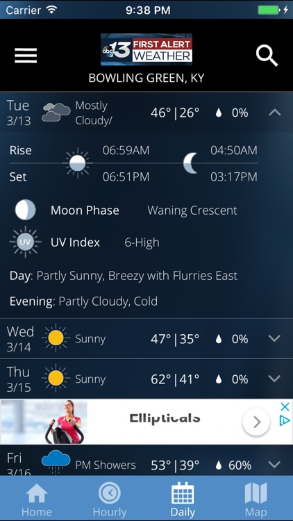 WBKO First Alert Weather screenshot-3