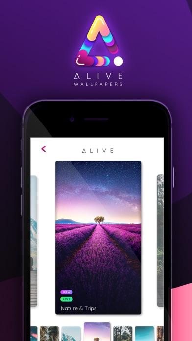 Alive: 4K live wallpapers screenshot 1