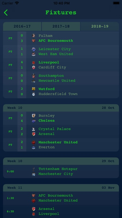 Live Results - English League screenshot-4
