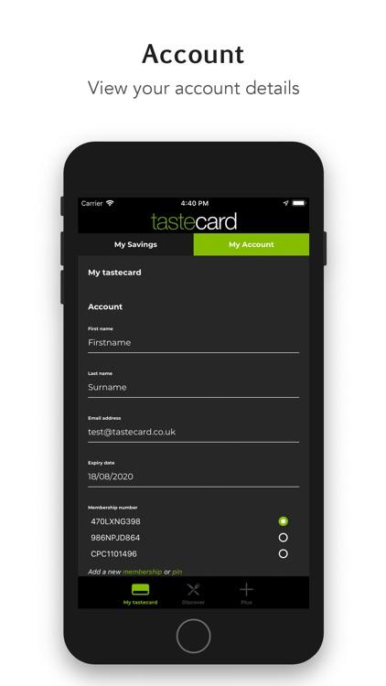 tastecard dining discounts screenshot-5