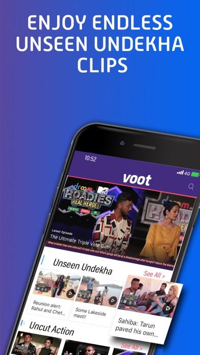 Voot - Revenue & Download estimates - Apple App Store - India