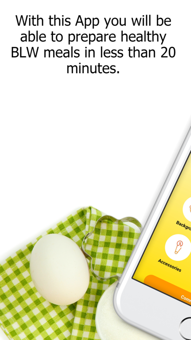 Baby Led Weaning Quick Recipes screenshot one