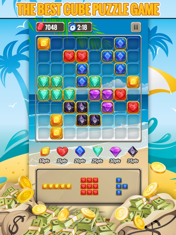Jewel Blitz: Block Puzzle Game-ipad-2