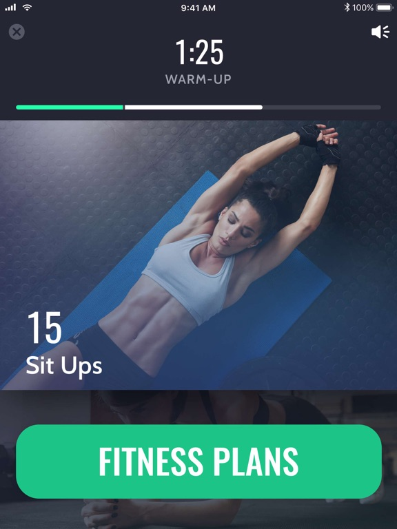 iPad Image of 30 Day Fitness Challenge ∘