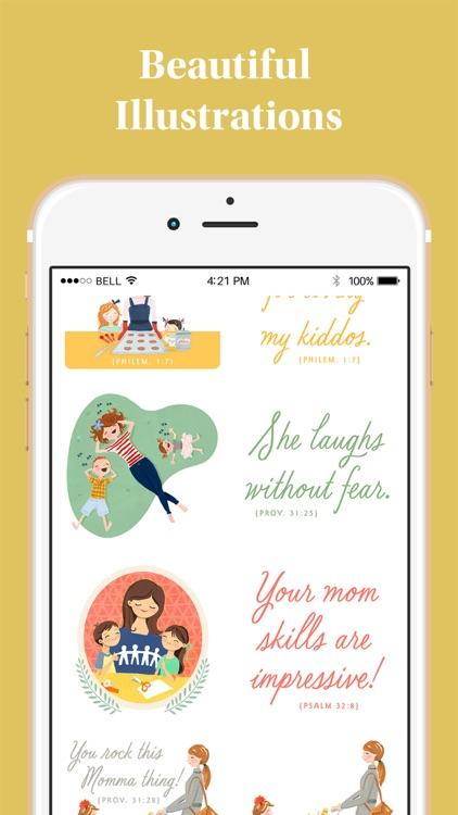 DaySpring Hey Momma! Stickers screenshot-5
