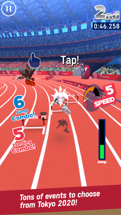 Sonic at the Olympic Games screenshot 3