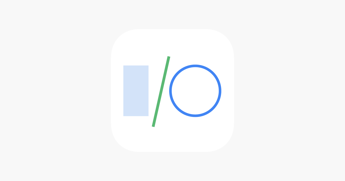 Google I/O on the App Store