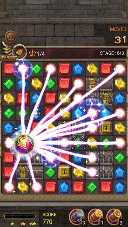Jewels Temple Quest : Match 3