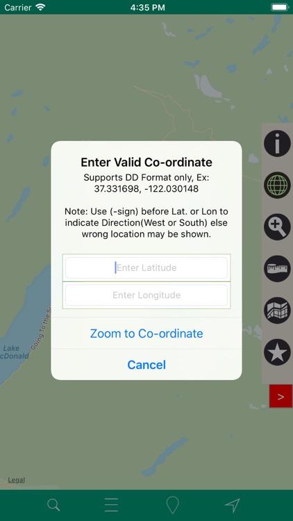 Glacier National Park – GPS screenshot-3