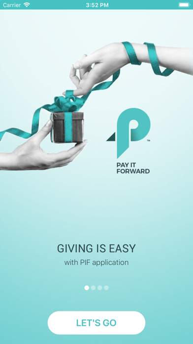 Screenshot #1 pour PIF - Pay It Forward